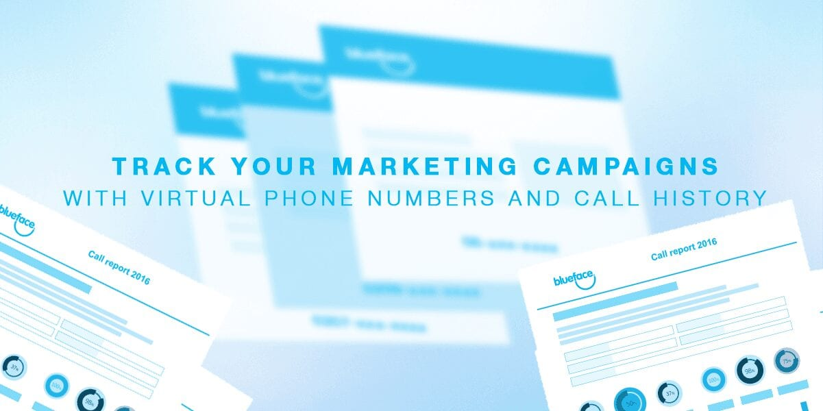 Track your marketing campaigns with virtual phone numbers ...