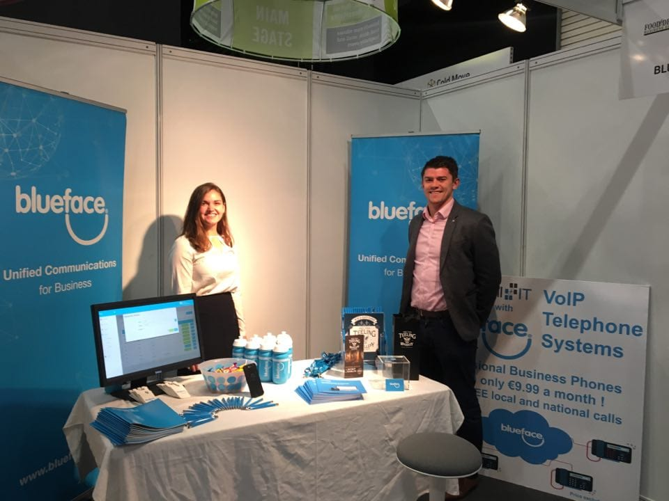 Blueface stand at Retail Expo