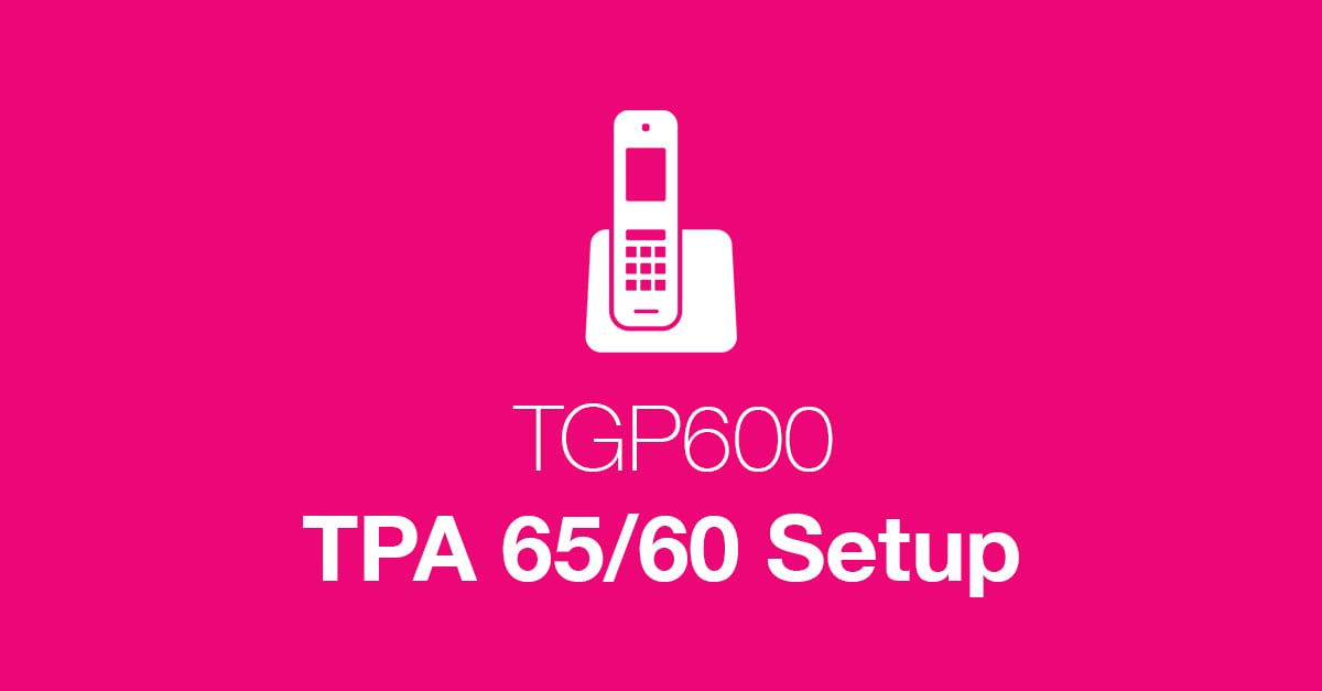 TGP600 Cordless VoIP