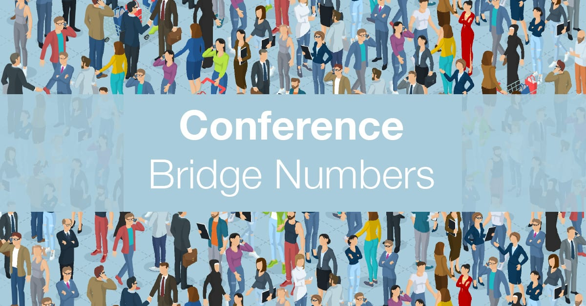 Conference Bridge Numbers
