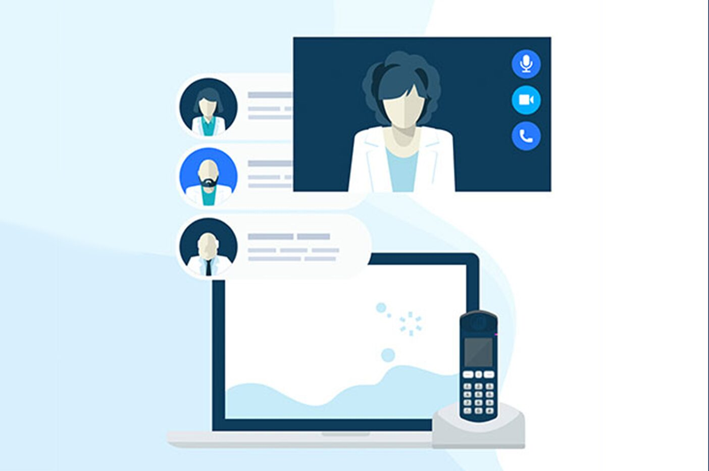 How Healthcare is Treating Cloud Communications Adoption